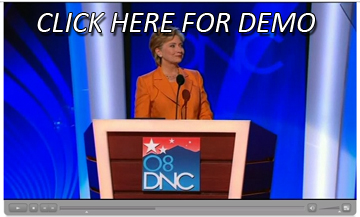 Hillary Clinton Video On Demand Demo