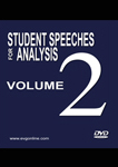 Student Speeches for Analysis Volume 2