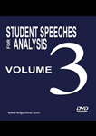 Student Speeches for Analysis Volume 3