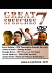 Great Speeches Volume 7
