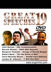 Great Speeches Volume 19