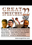 Great Speeches Volume 22